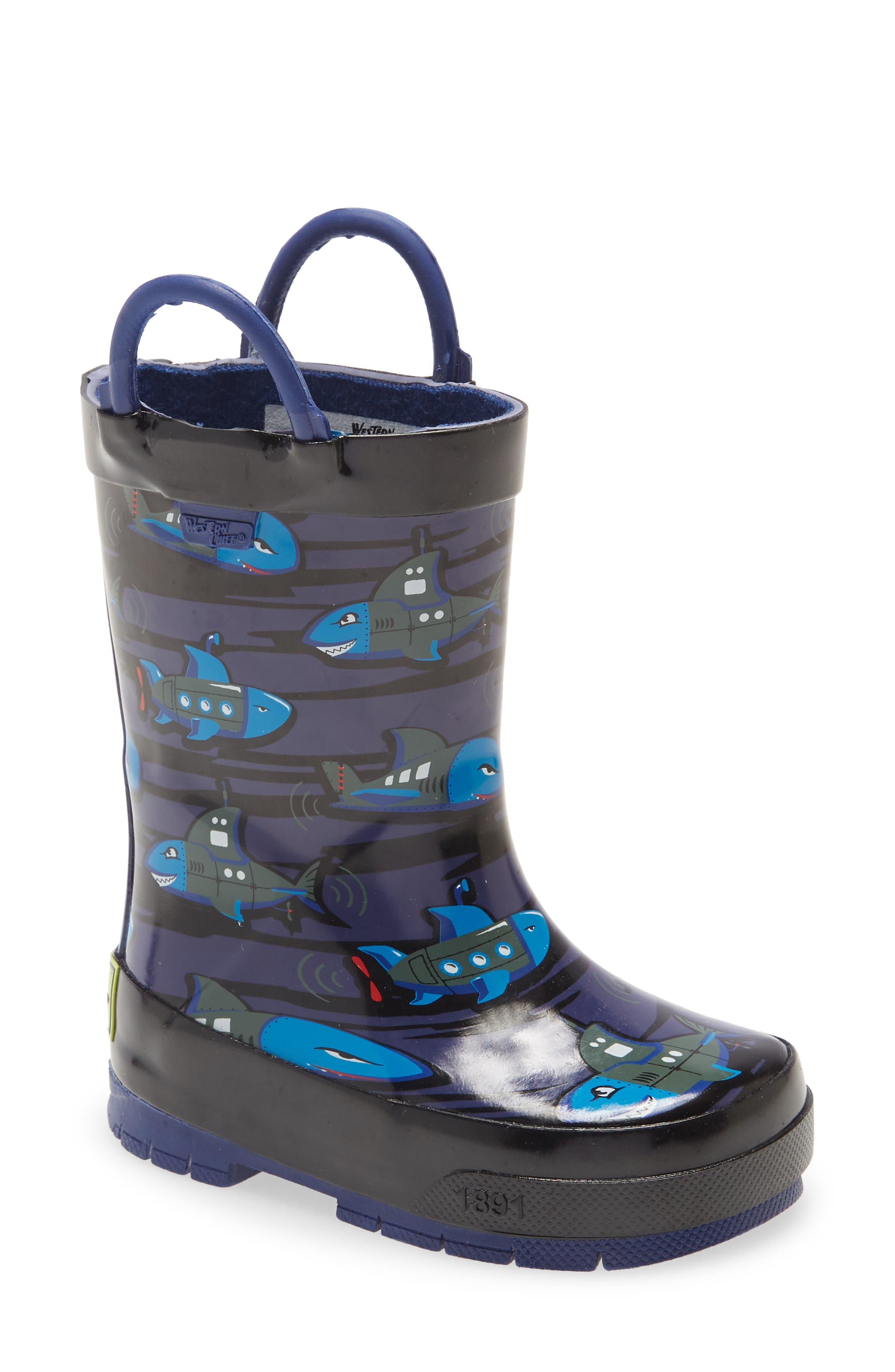 Image of Western Chief Shark Waterproof Rain Boot