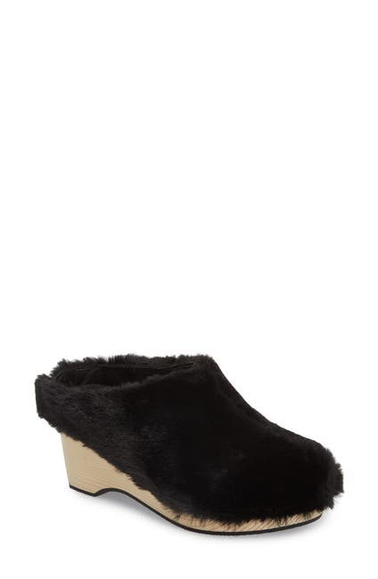 Image of Kelsi Dagger Brooklyn Joval Faux Fur Clog