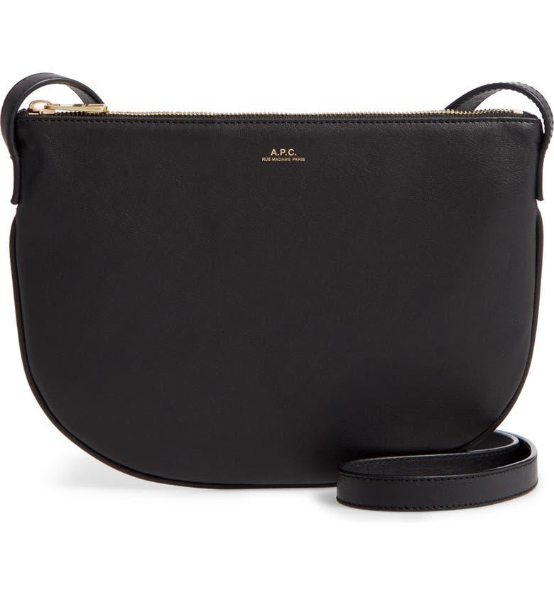bonne vente de chaussures profiter de gros rabais bien pas cher A.P.C. Sac Maelys Leather Crossbody Bag | Nordstrom