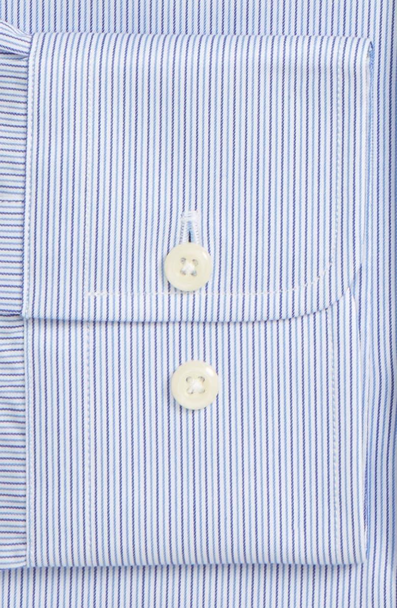 DAVID DONAHUE Regular Fit Stripe Dress Shirt, Main, color, 402