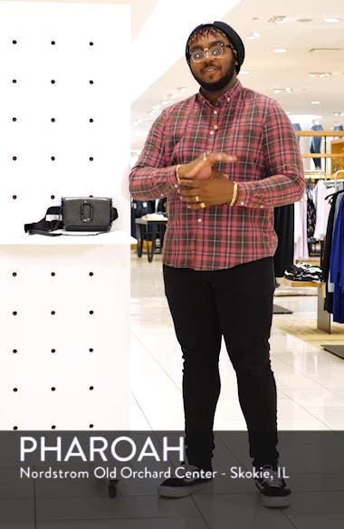 Hip Shot Leather Belt Bag, sales video thumbnail