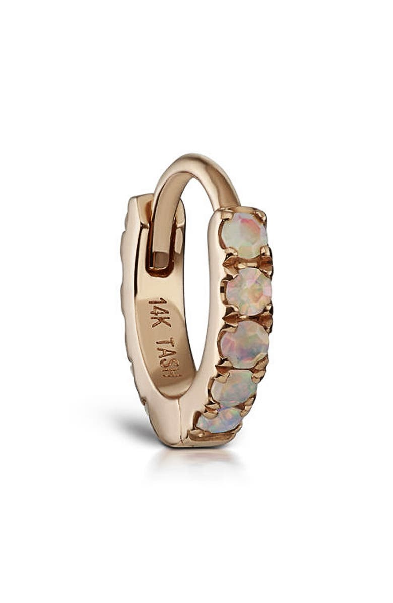 MARIA TASH Opal Eternity Hoop Earring, Main, color, 710