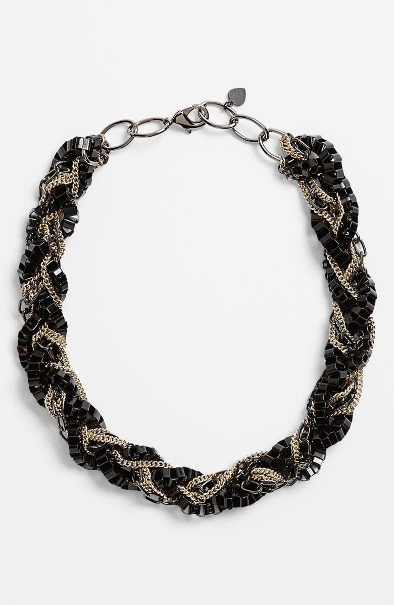 BONNIE JONAS Mixed Chain Necklace, Main, color, 001