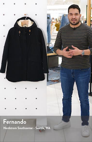 Florence Hooded Coat, sales video thumbnail