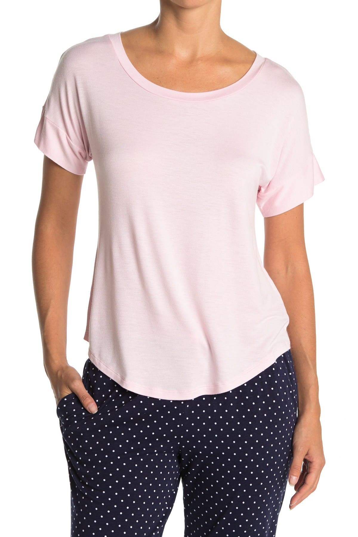 Image of Jane & Bleecker New York Short Sleeve Pajama Top