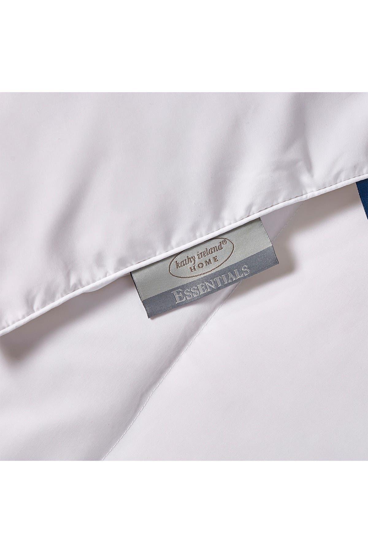 Image of Blue Ridge Home Fashions Kathy Ireland All Season White Down Fiber Comforter - Full/Queen