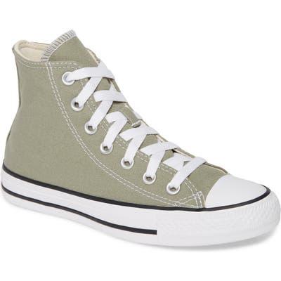 Converse Chuck Taylor All Star Seasonal Hi Sneaker, Green