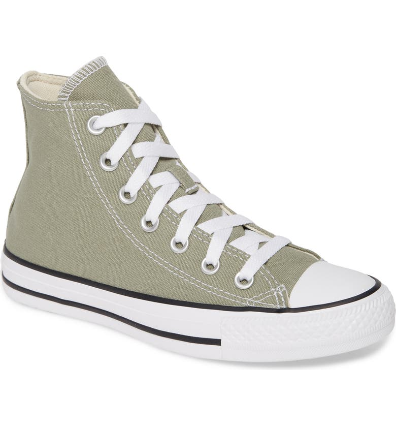 CONVERSE Chuck Taylor<sup>®</sup> All Star<sup>®</sup> Seasonal Hi Sneaker, Main, color, JADE STONE