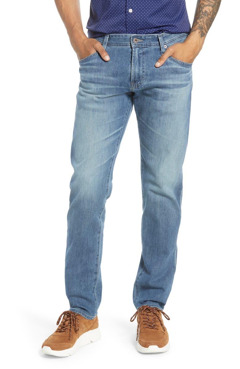 AG Tellis Slim Fit Jeans, Main, color, APERTURE