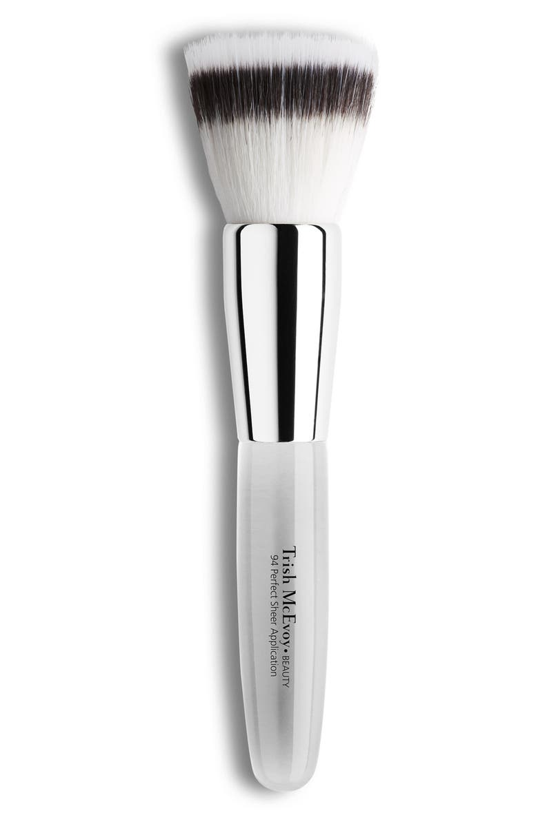 TRISH MCEVOY #94 Perfect Sheer Application Brush, Main, color, NO COLOR