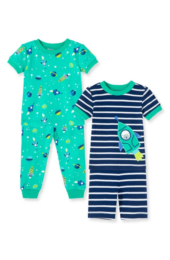 Little Me Boys' Space Pajama Sets, 2 Pack - Baby In Multi