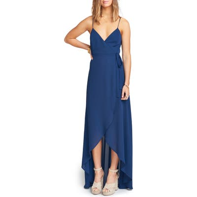 Show Me Your Mumu Mariah Wrap Maxi Dress