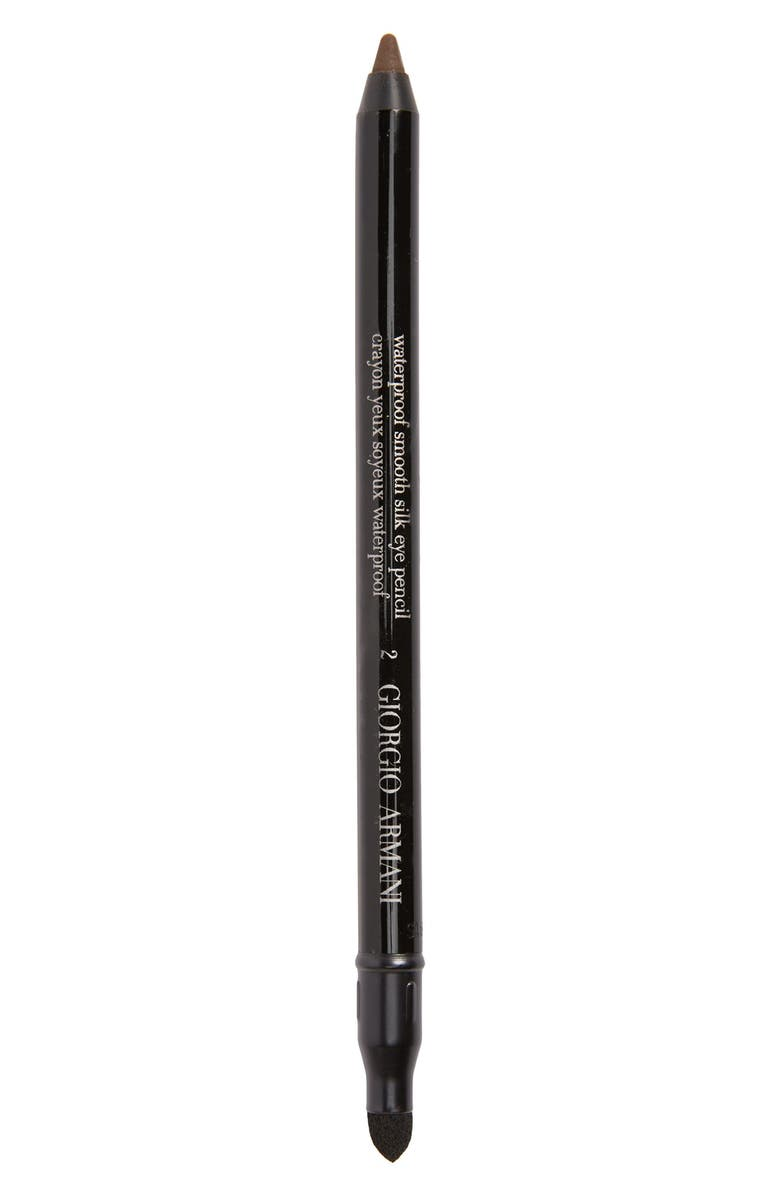 GIORGIO ARMANI Eyes to Kill Waterproof Eye Pencil, Main, color, #2 BROWN