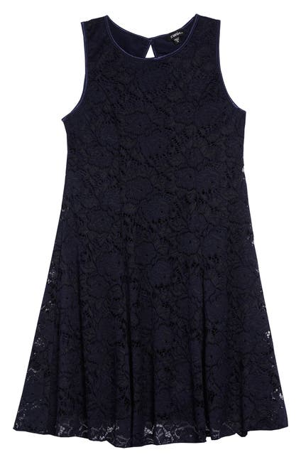 Image of Zunie Lace Skater Dress