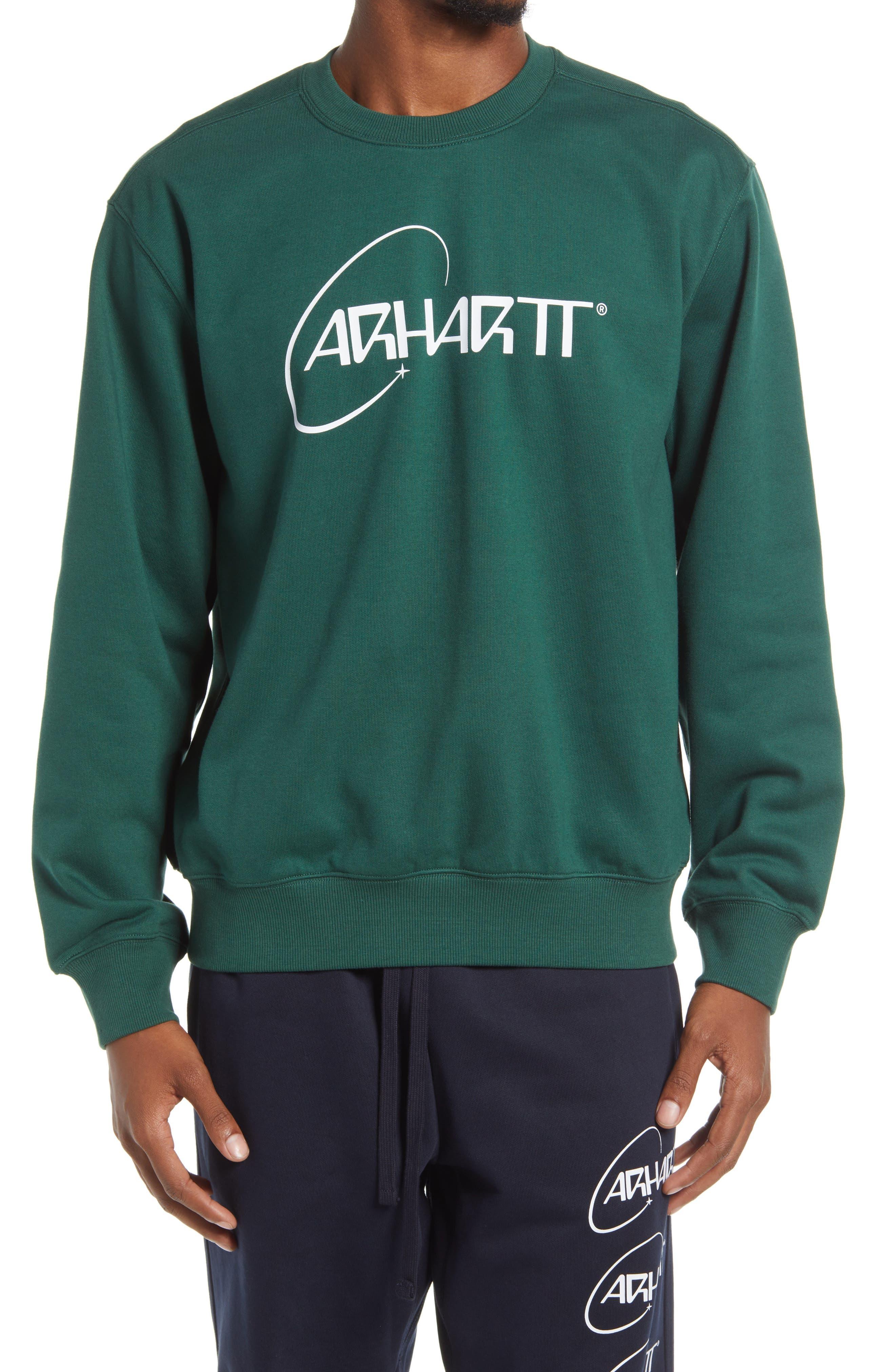 Carhartt Work In Progress Men's Orbit Logo Sweatshirt
