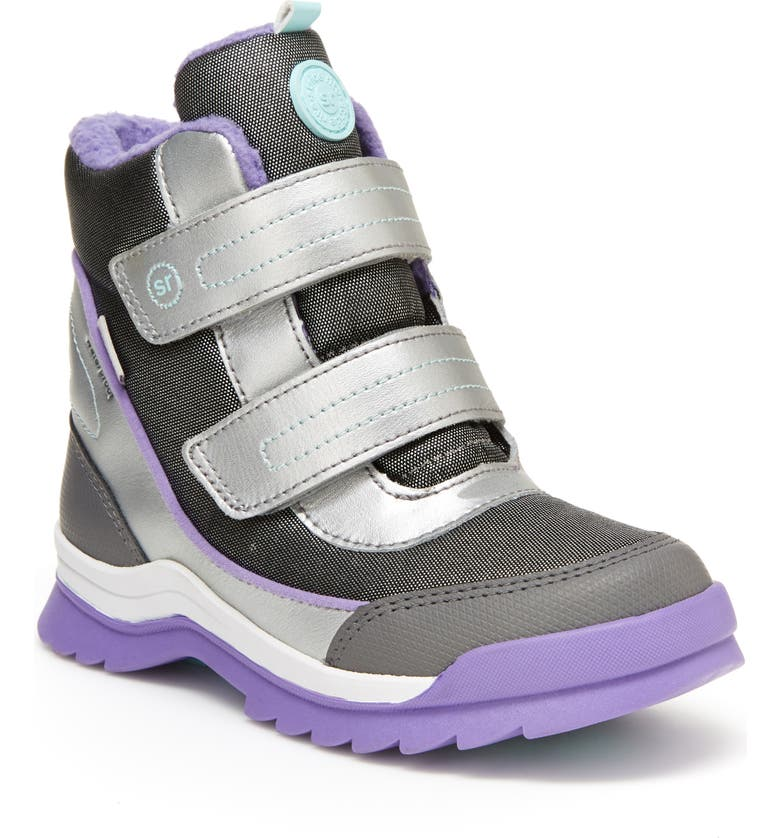 STRIDE RITE Made2Play<sup>®</sup> Everest High Top Sneaker, Main, color, SILVER