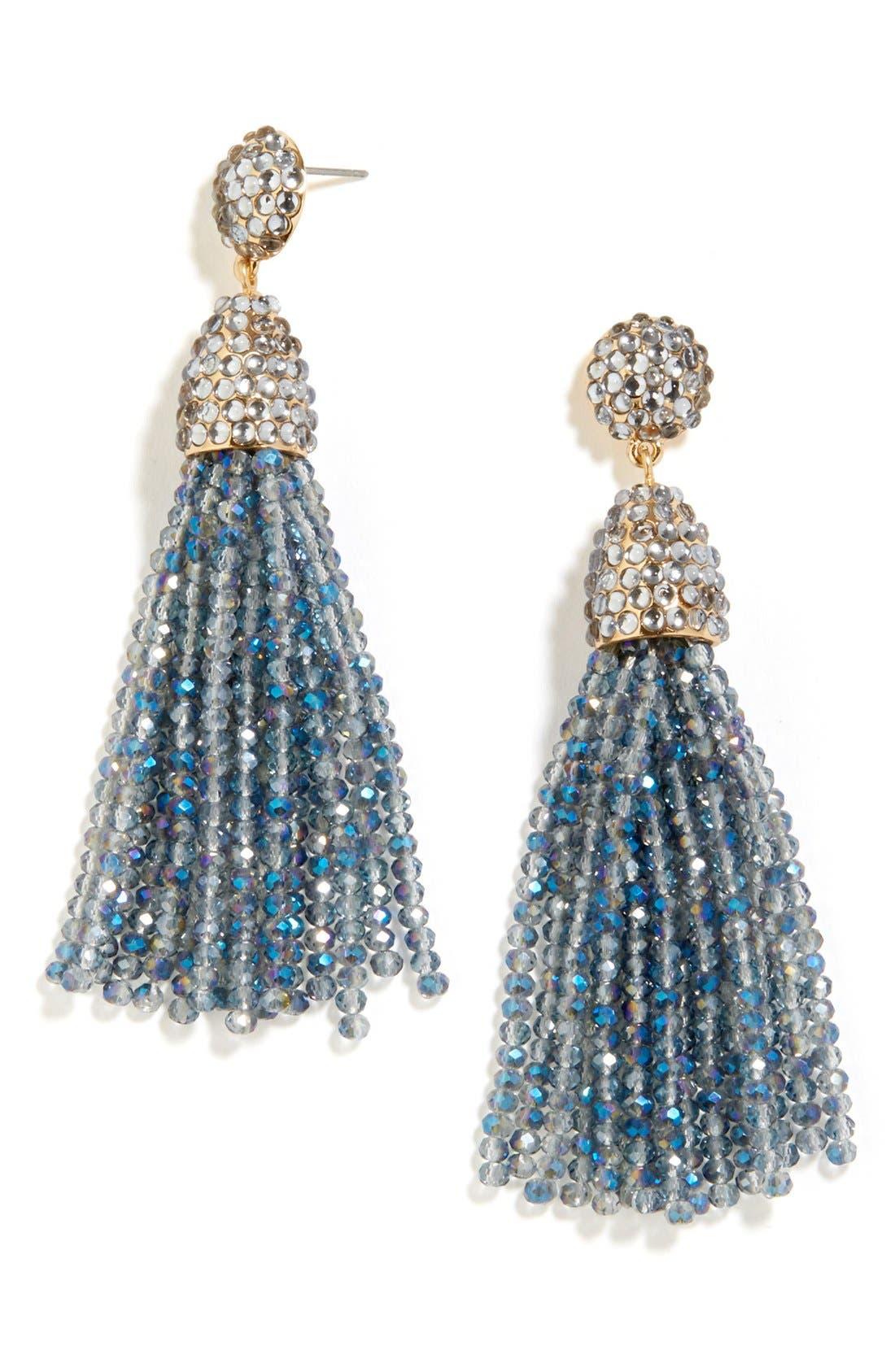 ,                             'Nynette' Tassel Drop Earrings,                             Main thumbnail 3, color,                             040