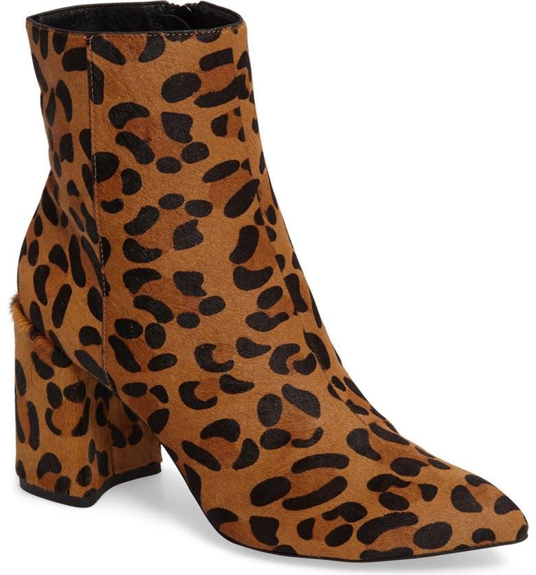 TOPSHOP Heart Genuine Calf Hair Boot, Main, color, 211