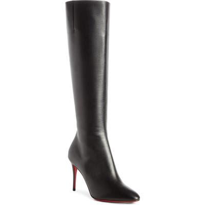 Christian Louboutin Eloise Knee High Boot, Black