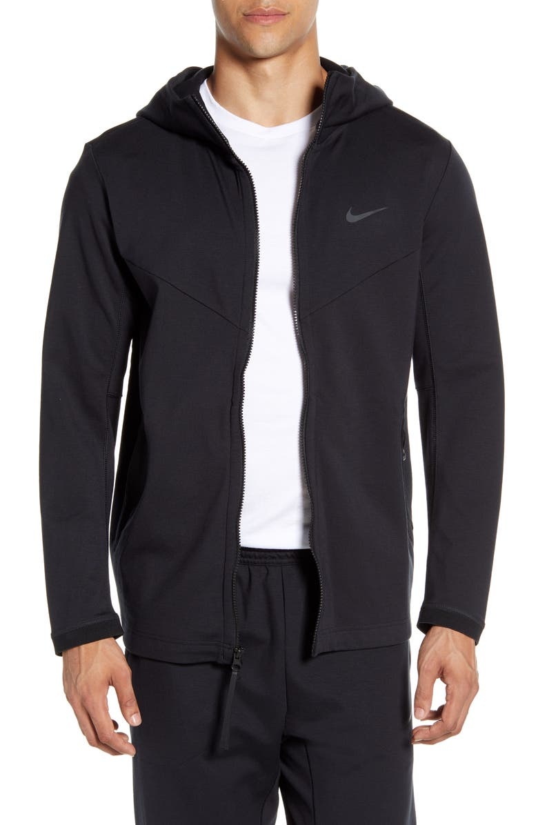 NIKE NSW Tech Pack HD Knit Jacket, Main, color, BLACK/ BLACK