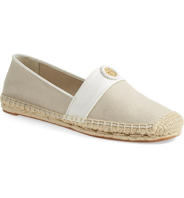 TORY BURCH 'Lacey' Espadrille Flat, Main, color, 260