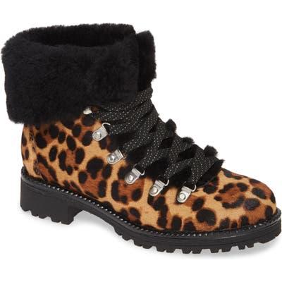 J.crew Leopard Calf Hair Nordic Boot, Brown