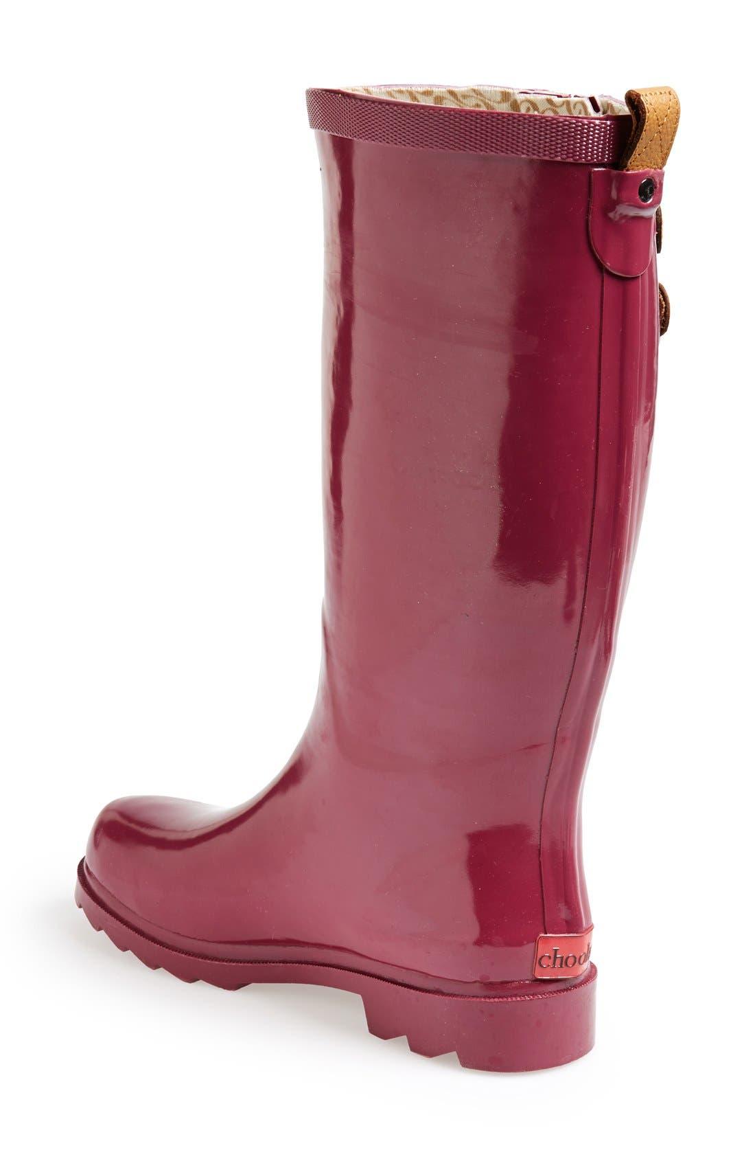 ,                             'Top Solid' Rain Boot,                             Alternate thumbnail 140, color,                             662