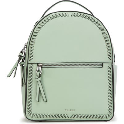 Calpak Kaya Faux Leather Round Backpack - Green