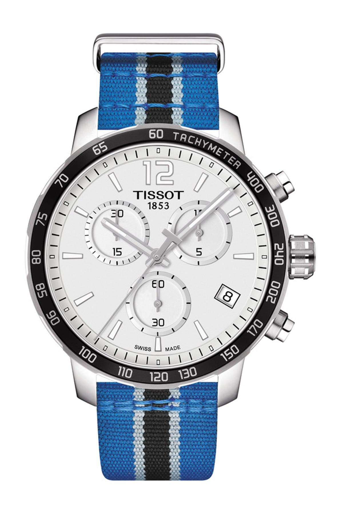 Image of Tissot Men's Quickster Chronograph NBA Minnesota Timberwolves Watch, 42mm