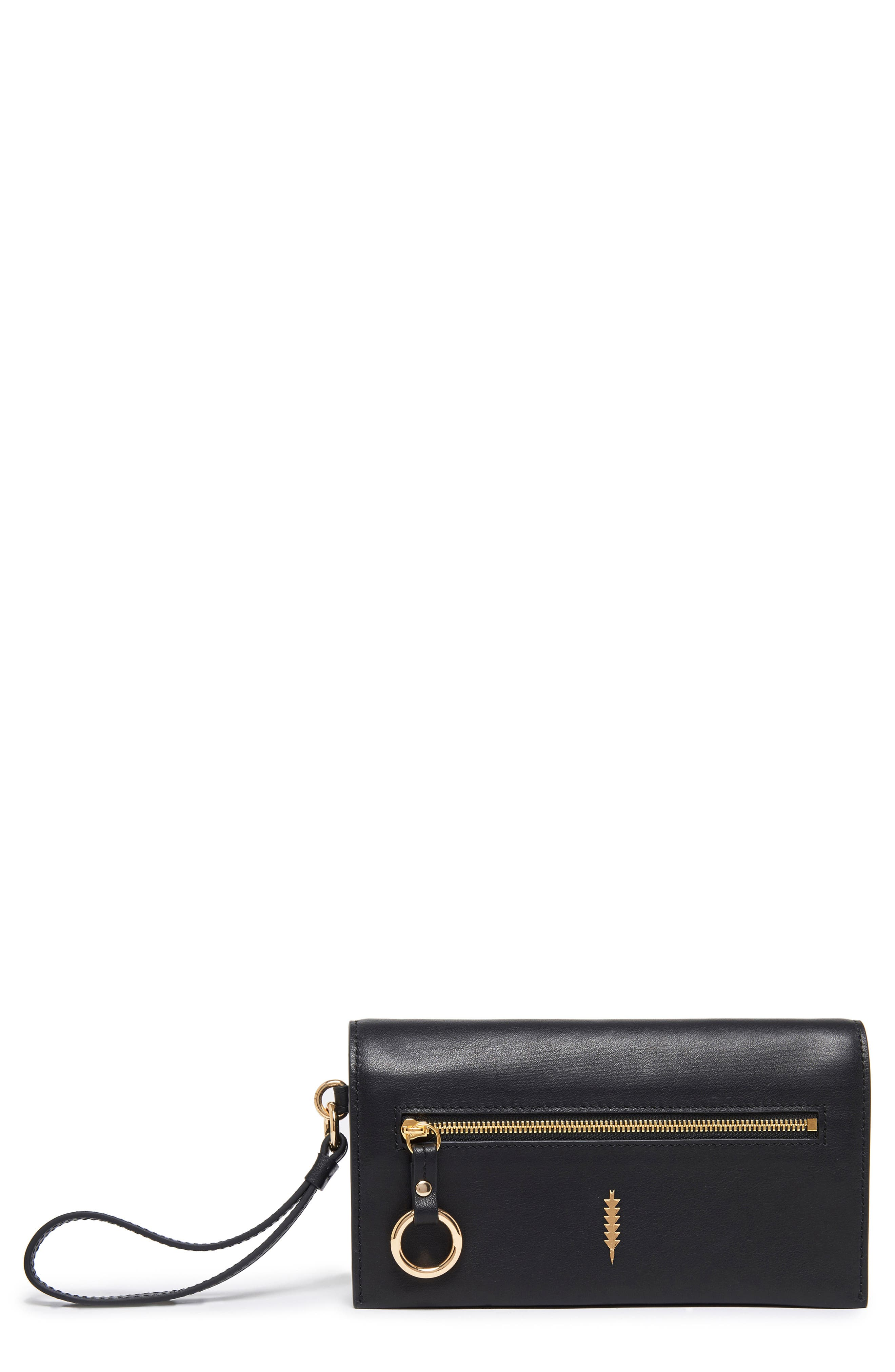 Image of THACKER Eve Leather Crossbody Wallet