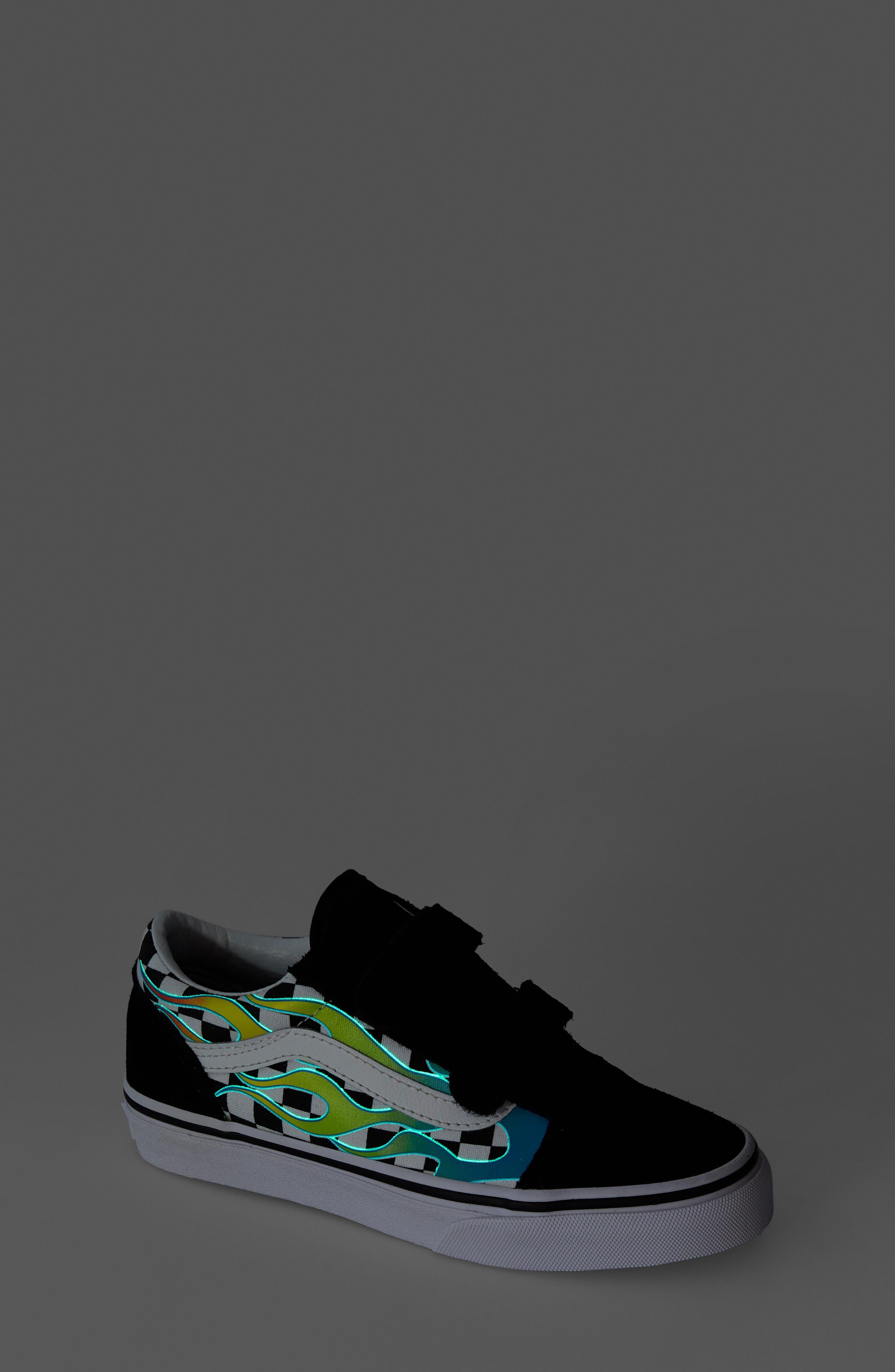 ,                             Old Skool V Sneaker,                             Alternate thumbnail 7, color,                             SCUBA BLUE/ BLACK