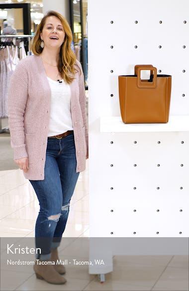 Shirley Calfskin Leather Handbag, sales video thumbnail