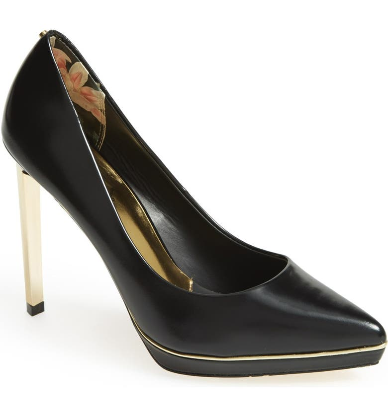 TED BAKER LONDON 'Nydea' Pump, Main, color, 003