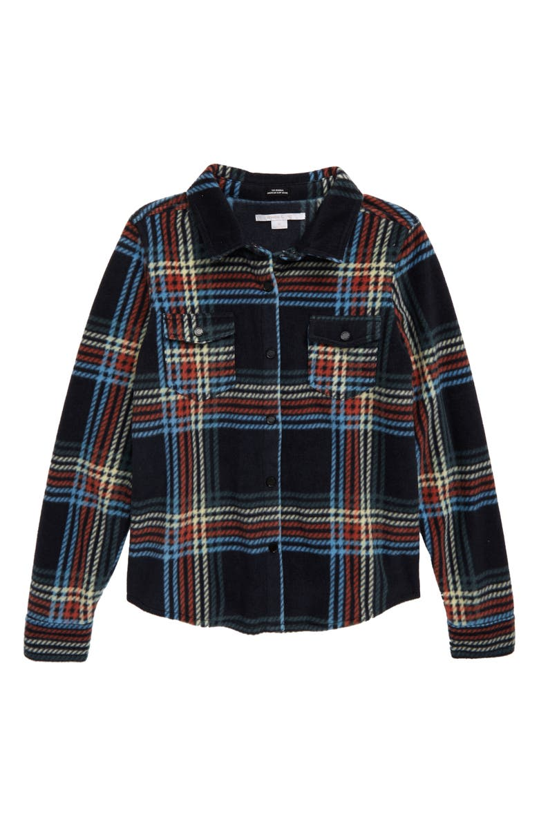 O'NEILL Bluff Fleece Shirt, Main, color, ABYSS