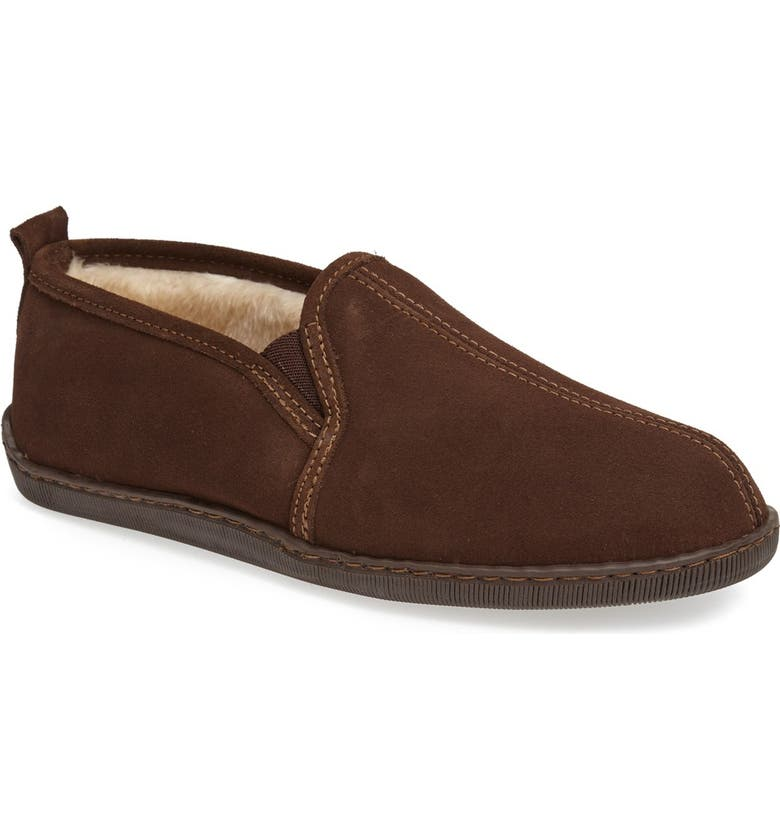 Minnetonka Suede Slipper Men