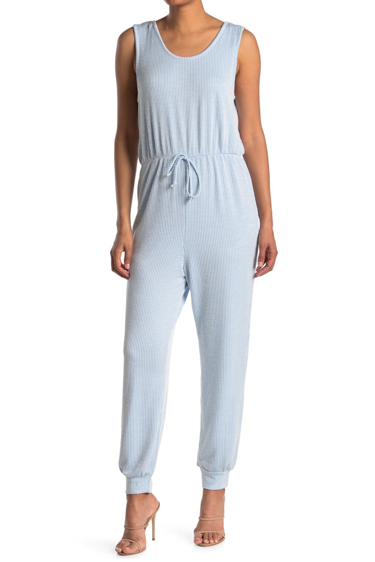 Image of Velvet Torch Ribbed Tank Jumpsuit