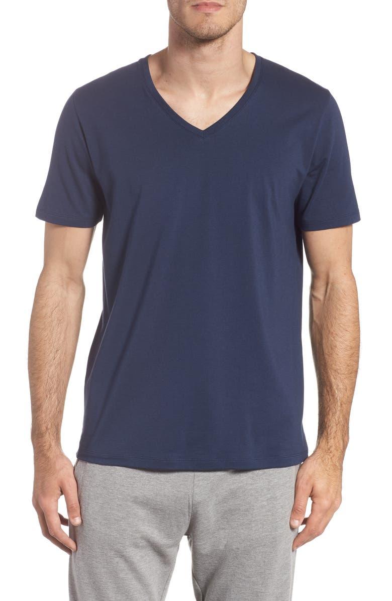 TOMMY JOHN V-Neck T-Shirt, Main, color, DRESS BLUES