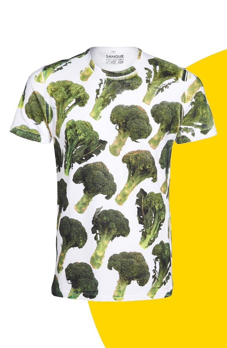 SANGUE 'Broccolo' Graphic Tee, Main, color, 300