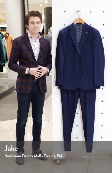 Jay Trim Fit Wool Suit, sales video thumbnail