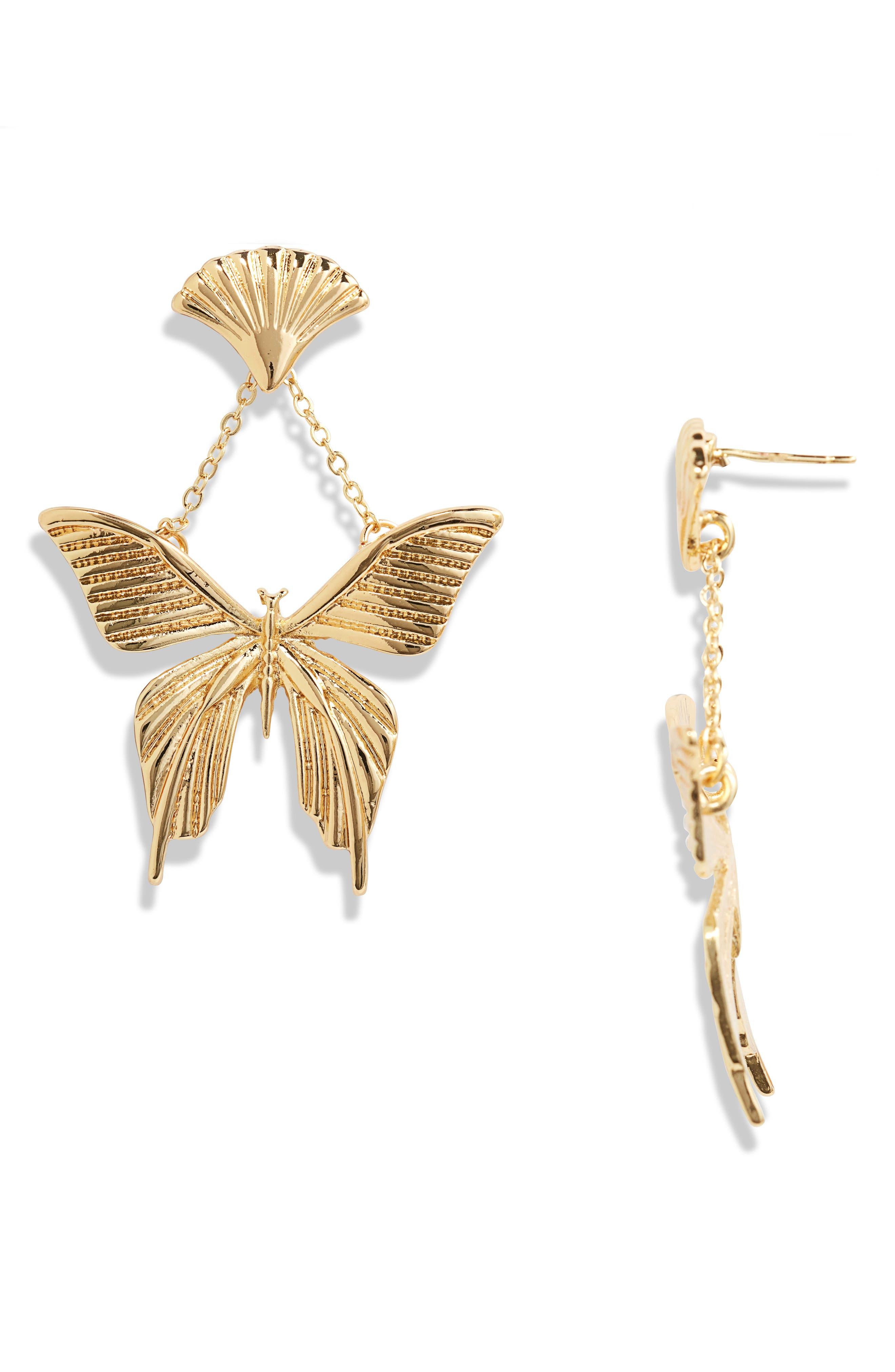 Celeste Butterfly Earrings