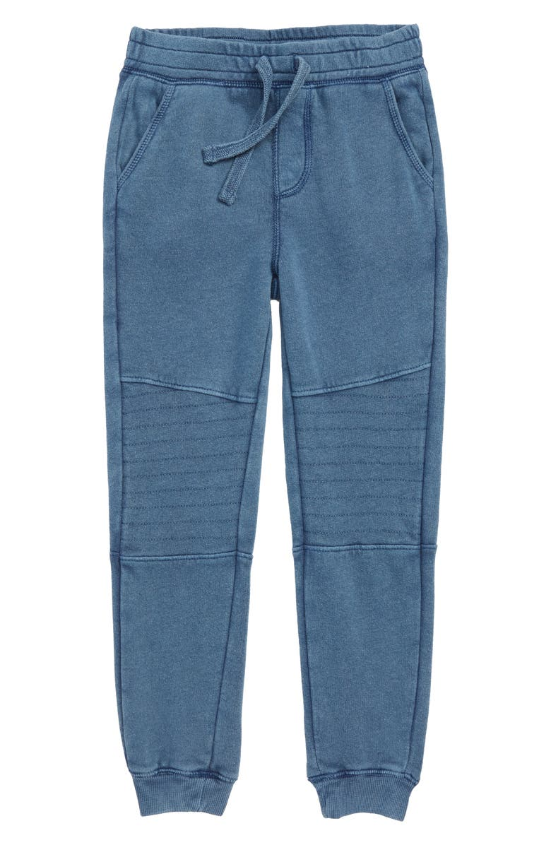 TUCKER + TATE Kids' Moto Joggers, Main, color, NAVY DENIM