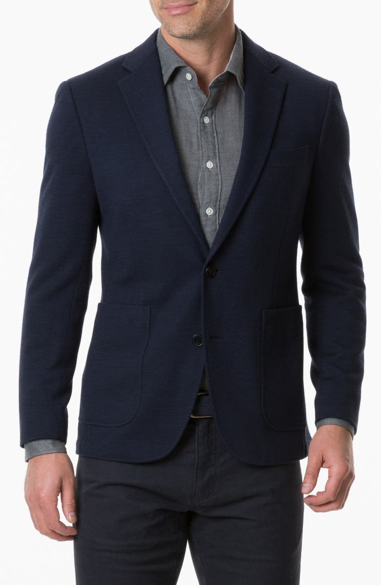 RODD & GUNN Binbrook Regular Fit Sport Coat, Main, color, NAVY