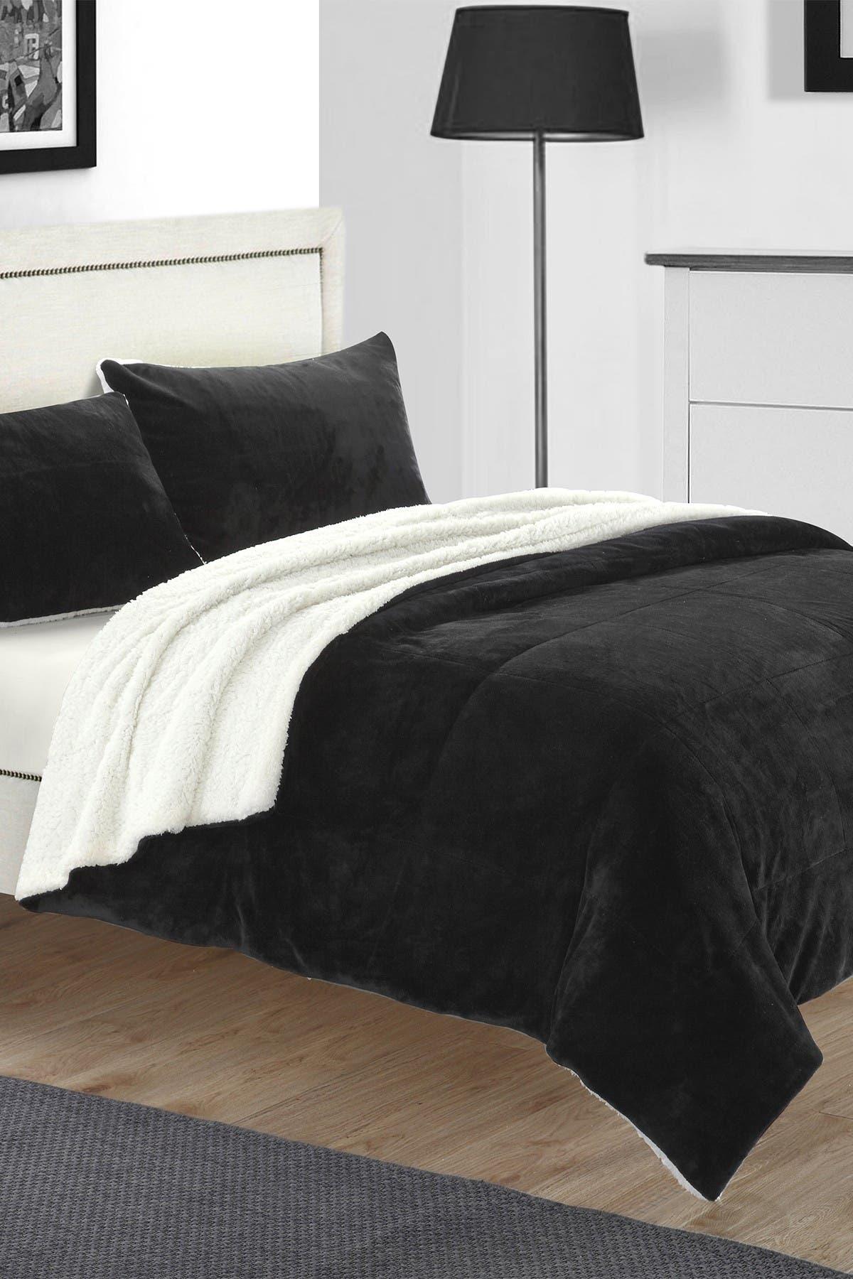 Chic Home Bedding King Evelyn Blanket Set Black Nordstrom Rack