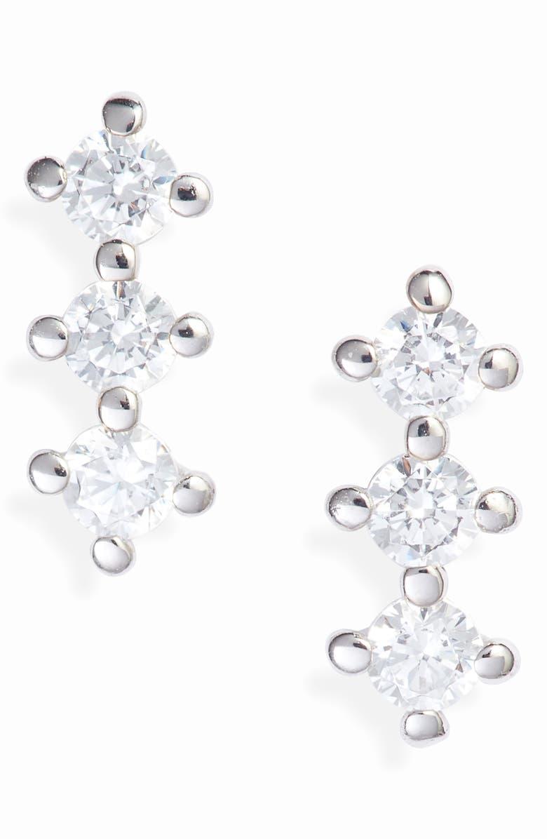 NADRI Issa Small Stud Earrings, Main, color, 040