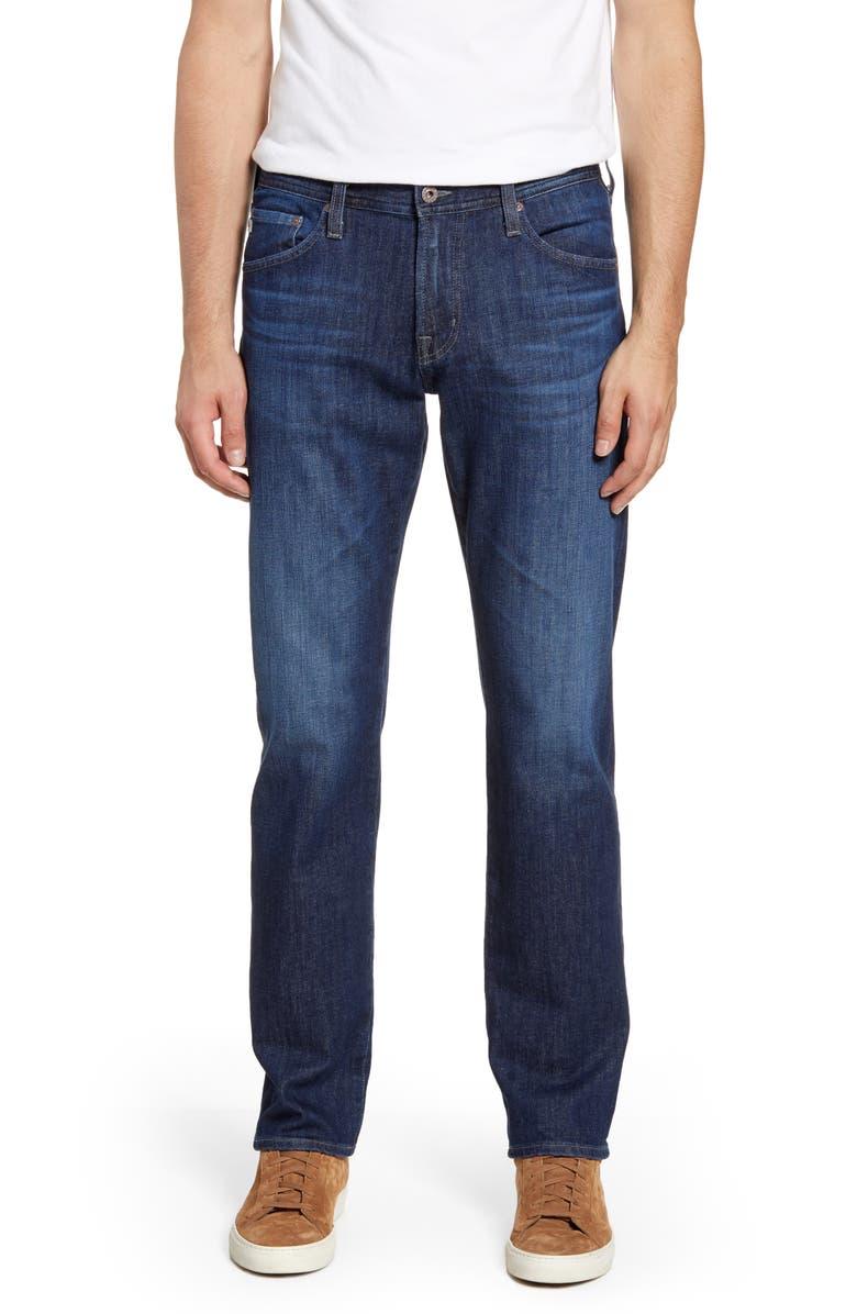 AG Graduate Slim Straight Leg Jeans, Main, color, TREBLE