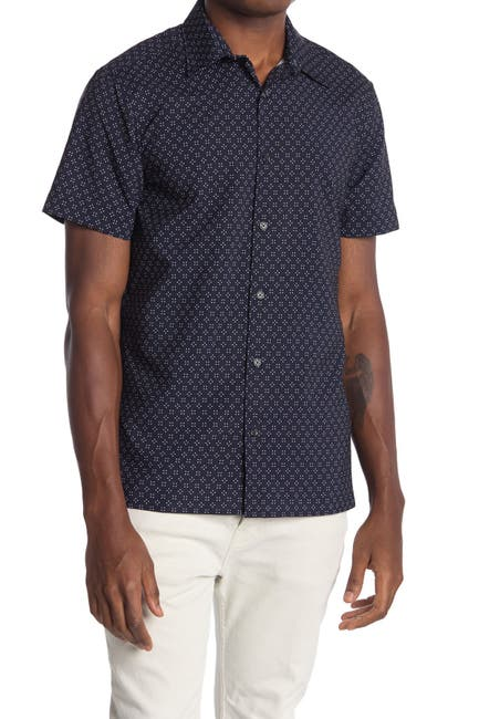 Image of Perry Ellis Geometric Slim Fit Shirt