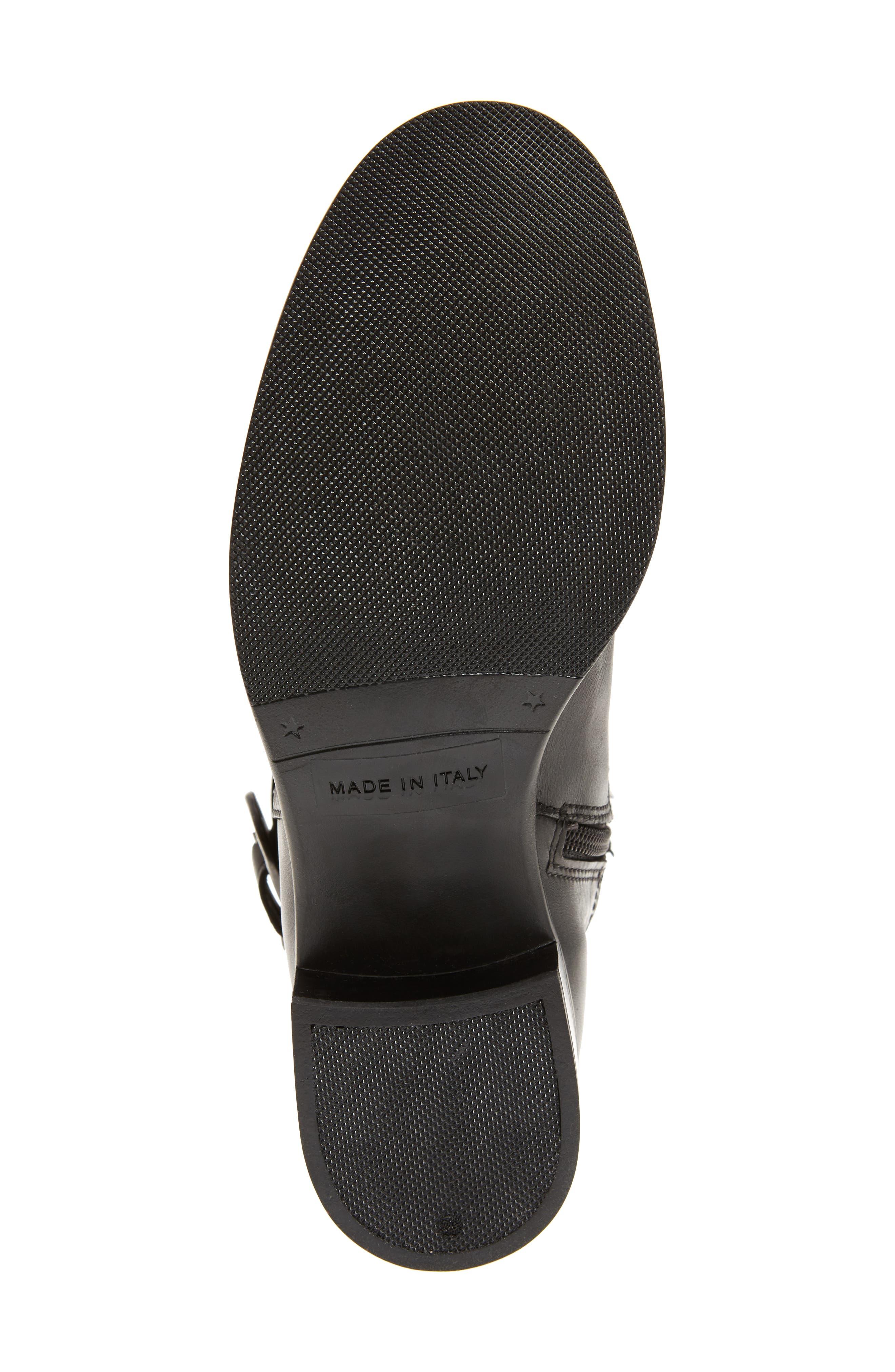 ,                             Amalfi 16 Boot,                             Alternate thumbnail 6, color,                             BLACK LEATHER
