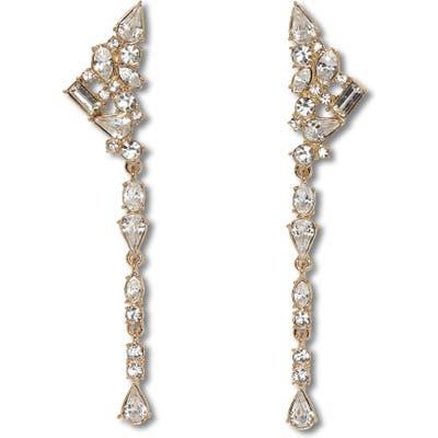 Vince Camuto Linear Crystal Earrings