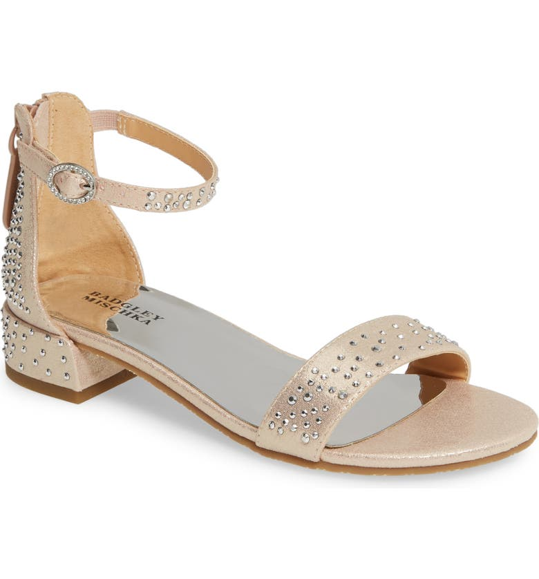 BADGLEY MISCHKA COLLECTION Badgley Mischka Penny Sparkles Sandal, Main, color, 654