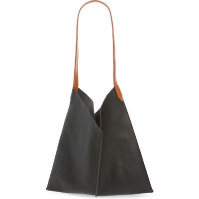 Bp. Center Seam Faux Leather Tote - Black